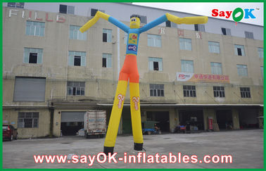 China 7m High Heavy Duty Inflatable Air Dancer Man With Custom Logo For Promotion supplier