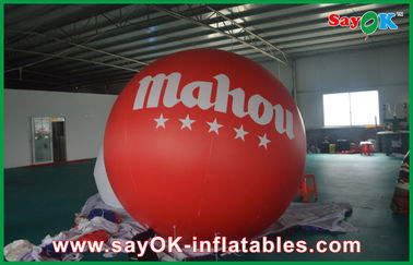 China 0.2mm Pvc Promotional Lighting Inflatable Helium Balloon with Print supplier