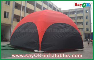 China PVC DIA 10m Promotional Inflatable Dome Spider Tent for Advertising supplier