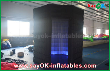 China Newest Inflatable Lingting Octagon Photo Booth Oxford Cloth For Wedding Or Event supplier