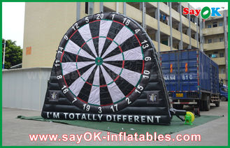 China PVC Tarpaulin Inflatable Sports Games , Custom Advertising Inflatables Dart Board supplier