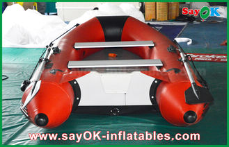 China 0.9mm PVC Inflatable Boats Aluminium Alloy Floor 4-6 Person Canoeing Kayak supplier
