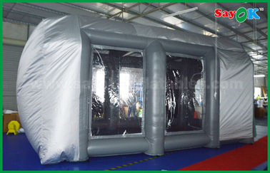 China Waterproof Cutomized Inflatable Air Tent / PVC Inflatable Spray Booth For Car Paint Spraying supplier