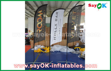 China Portable Inflatable Air Knife Flag Folding Tent For Promotion / Advertising supplier