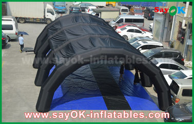 China Customized 0.55 mm PVC tarpulin Inflatable Tunnel Tent for Advertising / Promotion supplier