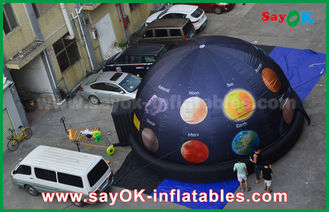 China 6m 210 D Oxford Cloth Portable Inflatable Planetarium Dome for Cinema with Full Printing supplier