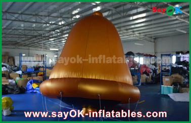 China So Cool Customized PVC High Quality Helium Bells Inflatable Model For Advertising supplier