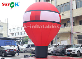 China Oxford Cloth 7m Falling Earth Inflatable Balloon For Outdoor Decoration supplier