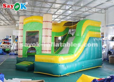 China 4*3.5*3.5m PVC Tarpauline Inflatable Bouncer Slide With Blower For Entertainment supplier