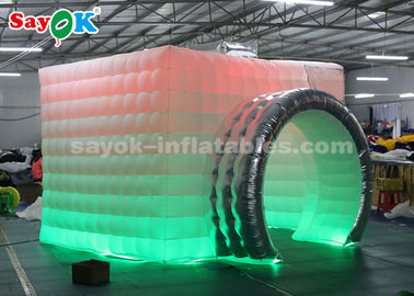 China Lightweight Inflatable Photo Booth Double LED Strips For Trade Show supplier