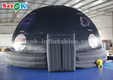 China 6m Portable 360 Degree Inflatable Planetarium Dome Tent For Science Museum supplier