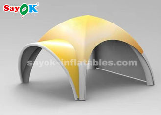 China Customized Portable X Shape Inflatable Air Tent For Trade Show Easy Assemble supplier