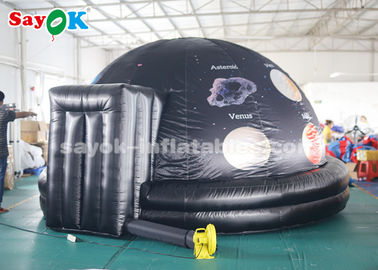 China Full Printing 4m Inflatable Planetarium Dome for School Astronomy Teaching supplier