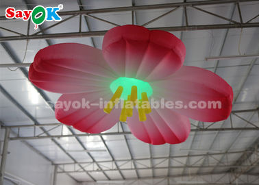 China 3m LED Light Hanging Flower Inflatable Lighting Decoration For Wedding supplier