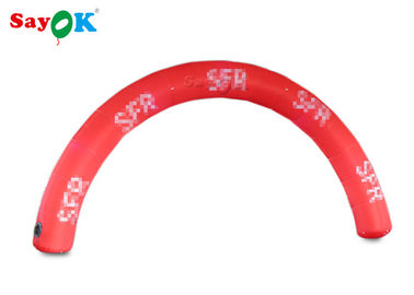 China Red 6*3m Inflatable Arch Start Finish Line For Advertising Event SGS supplier