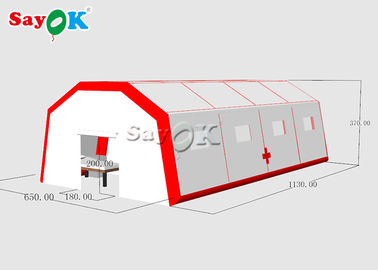 China Customized Size Inflatable Field Hospital Oxygen Tent To Set Patients Fast Built supplier