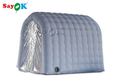 China Gray Inflatable Medical Tent Disinfection Tunnel For Hospital Equipment supplier
