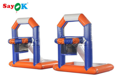 China Fire - Proof Inflatable Sports Games / Creative Kids Inflatable Basketball Water Shooting Game supplier