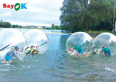 Giant Transparent Tpu Inflatable Water Walking Ball For Rental SGS ROHS