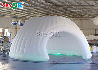 Corporate Events Finished 6m LED Inflatable Dome Tents