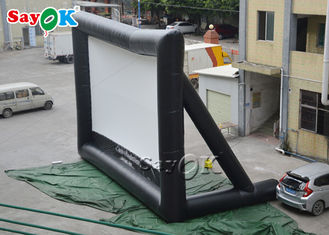 China Double Stiching PVC Museum Inflatable Movie Screen supplier