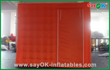 China Portable Red Custom Inflatable Products Oxford Cloth For Wedding supplier