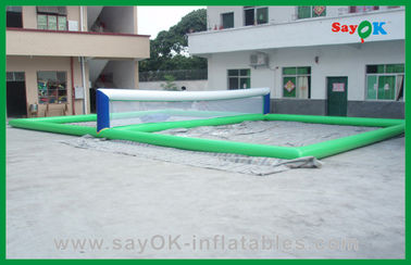 Funny Volleyball Court Inflatable Water Toys , Inflatable Pool Toys