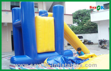 Commercial Inflatable Water Toys , PVC Tarpaulin Inflatable Bouncer Slide