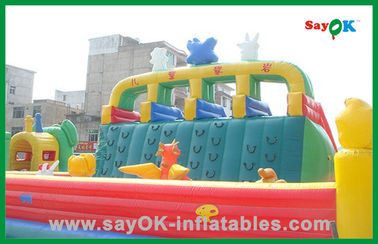 Ginat Commercial Inflatable Bouncer / Inflatable Slide / Inflatable Combo For Kids