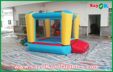 PVC / Oxford Simple Inflatable Bounce Custom Inflatable Bouncy Castle