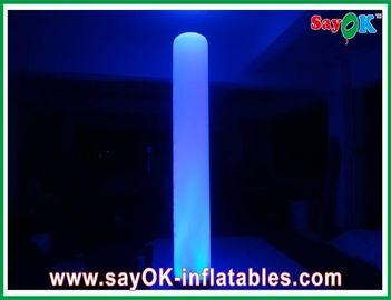 Wedding Ceremony Inflatable Lighting Decoration Height 2.5m Colorful