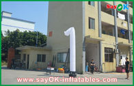 China Opening Ceremony Inflatable Dancers Long Dancing Inflatables White factory