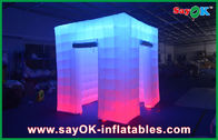 China 2.4x2.4x2.5m Big Inflatable Led Photo Booth Wedding Inflatable Booths company