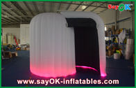 China Indoor Inflatable Photobooth , Custom Made White Inflatable Cube Tent factory