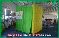 China Foldable Inflatable Photobooth Shell Colorful Oxford cloth with Led Strip factory