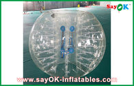 China 1.2m Transparent Inflatable Sports Games Human Inflatable Bumper Bubble Ball for Kids factory