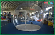 China Transparent Camping Inflatable Air Tent Clear Inflatable Bubble Tent For Rent factory