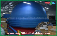 China 8m Oxford Cloth Mobile Planetarium , Projection Schools Inflatable Dome Tent factory