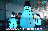 China Oxford Cloth Inflatable Holiday Decorations Giant Christmas Snowman For Party factory