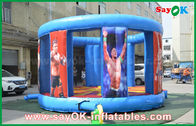 China Strong PVC Giant Inflatable Bouncy Castle For Damage / Boxing Two Years Warranty factory