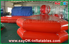 China Red PVC Inflatable Water Pool Air Tight Swimming Pond For Children Playing factory