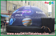 China Waterproof Full Print Mobile Planetarium Inflatable Dome Tent With Star factory
