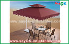 China 2.5 * 2.5M Advertising Sun Umbrella Beach Garden Patio Umbrella factory