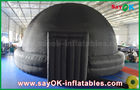 China School / Showing Portable Dome Inflatable Planetarium With Mobile Projector factory
