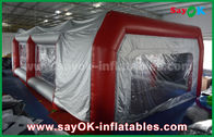 China Waterproof Inflatable Air Tent PVC Spray Booth For Car Paint Spraying factory