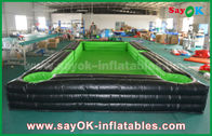 China Portable Giant Outside PVC Tarpaulin Inflatable Soccer / table tennis Court with CE Blower factory