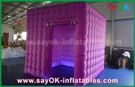 China Party / Event Inflatable Lighting Decoration Lighting Cube Nylon Cloth factory