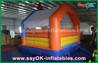 China Baby air bouncer inflatable trampoline , happy hop bouncy castle factory