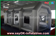 China Mobile Inflatable Air Tent / Inflatable Spray Booth With Filter for car cover company