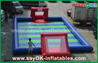 China Durable PVC Tarpaulin Inflatable Sports Games / Kids Inflatable Soccer factory